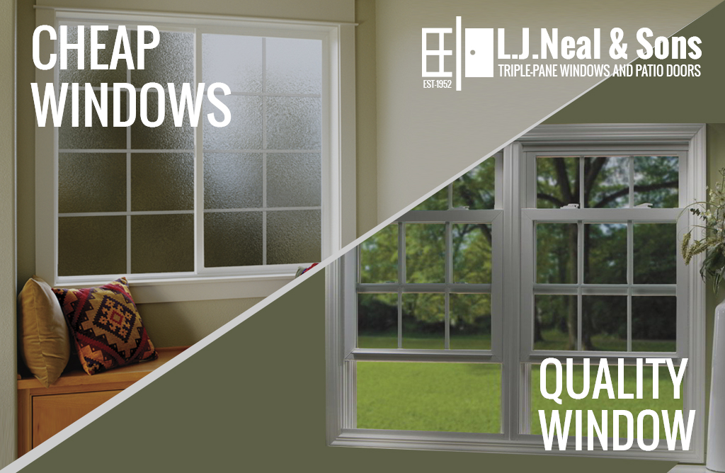 cheap versus quality window replacement what 39 s the difference